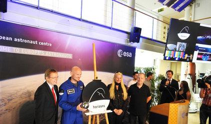 Presentation of Alexander Gerst's 'Horizons' mission