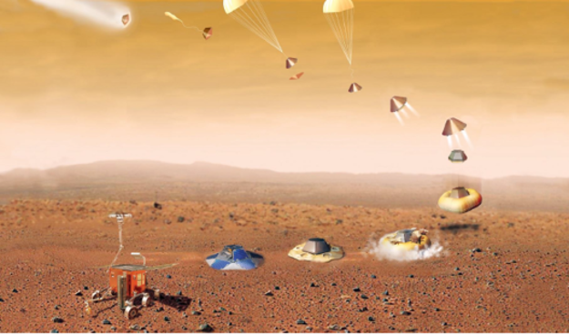 mars rover landing - HD4252×2480