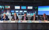 """""""An der Spitze der Innovationspyramide"""" - 12. Tag der deutschen Luft- und Raumfahrtregionen in Darmstadt, mit Bundeswirtschaftsministerium, Hessen und Spitzen der Industrie"""