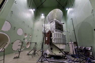 BepiColombo acoustic test