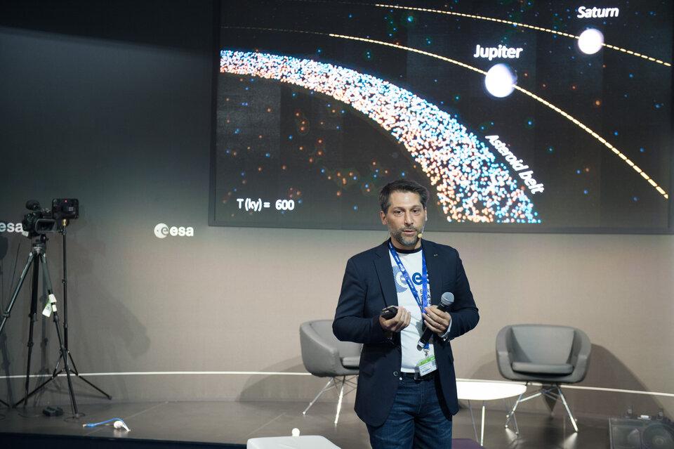 Ian Carnelli, chef de mission Hera pour l'ESA