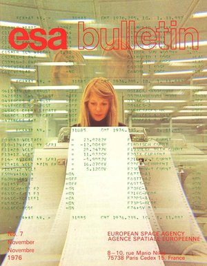 ESA Bulletin 7 (Nov. 1976)