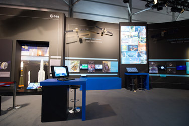 ESA Pavilion at the 2017 Paris Air and Space Show