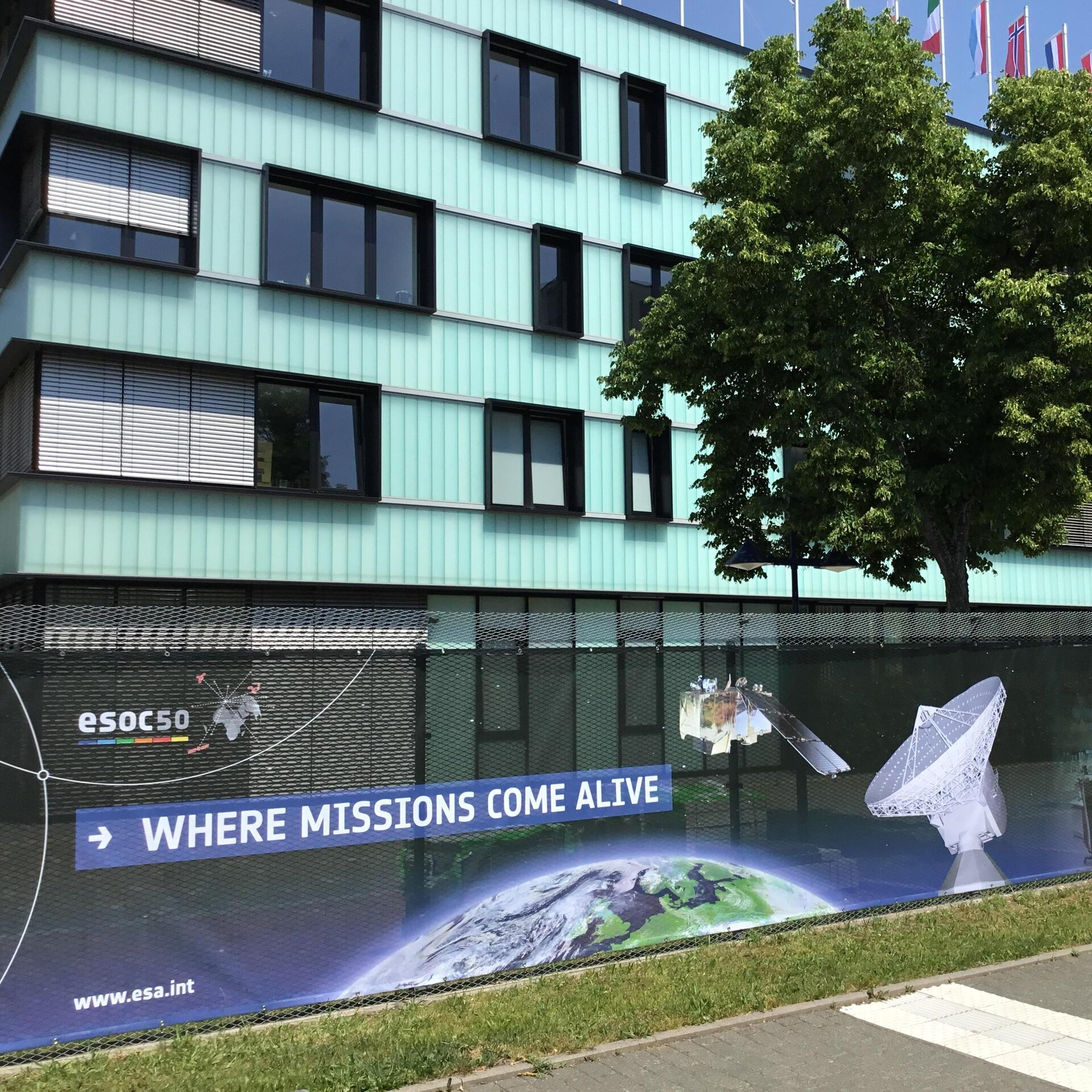 ESOC celebrates its 50th anniversary in 2017