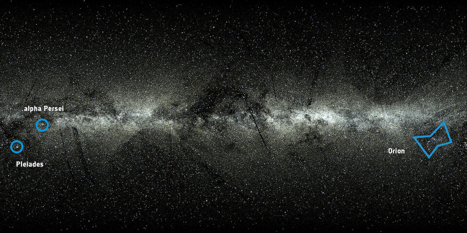 Gaia's all-sky view
