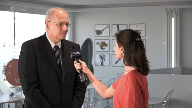 Interview CNES President