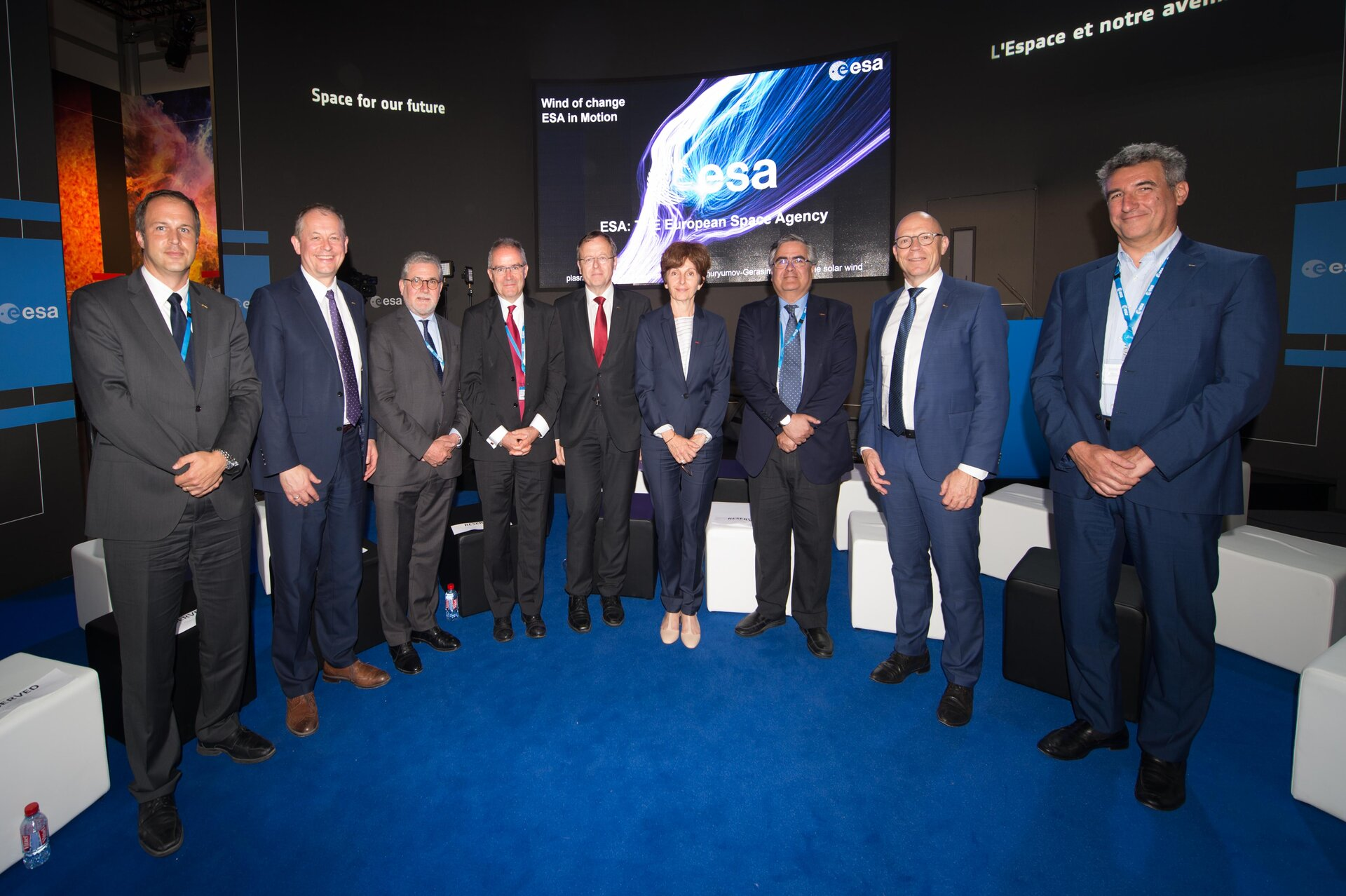 Jan Wörner and ESA directors