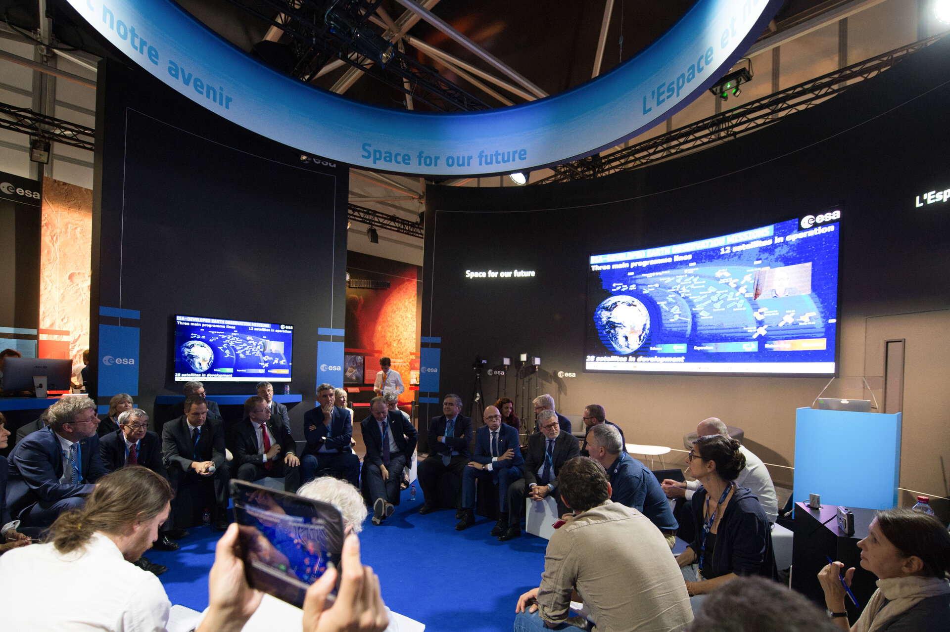 'Space 4.0ur future: ESA in motion' press conference