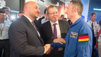 [31/63] Jan Woerner and Matthias Maurer with Etienne Schneider at the ESA Pavilion