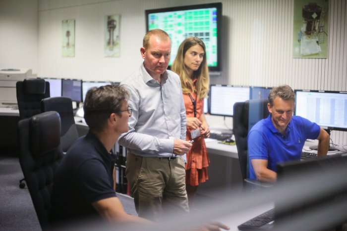 LISA Pathfinder mission controllers conducting flight operations at ESA's ESOC mission control centre, Darmstadt, Germany, on 27 June 2017
