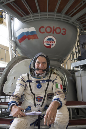 Paolo Nespoli at Star City
