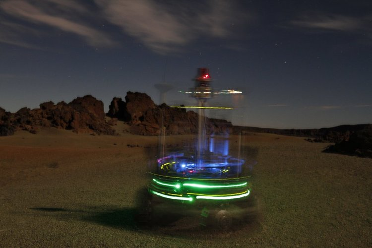 Rover in night test