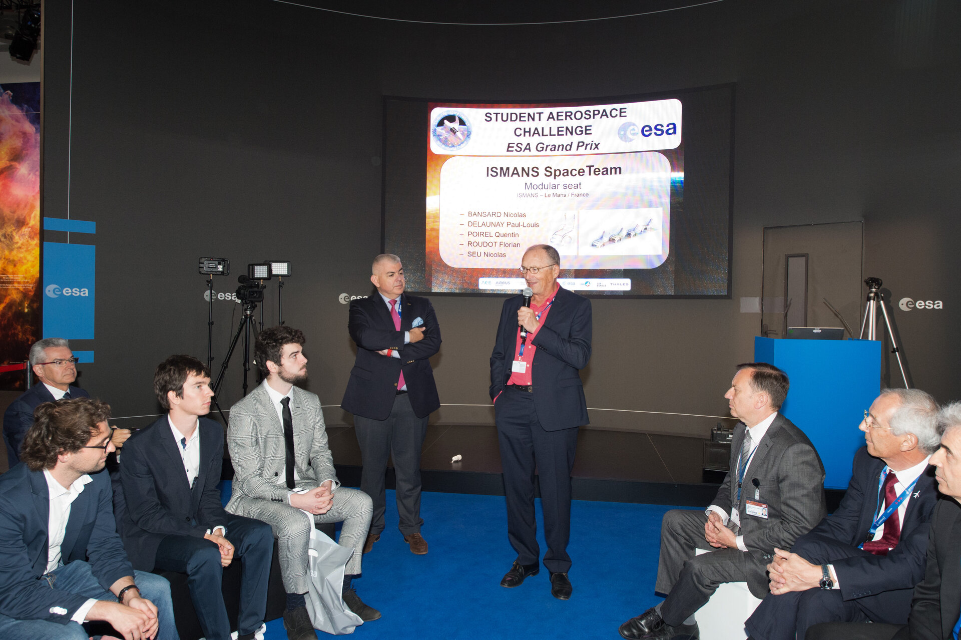 'Space 4.0ur future – NewGen challenge' Agora Talk with Students