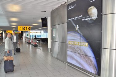Space for Europe op Schiphol
