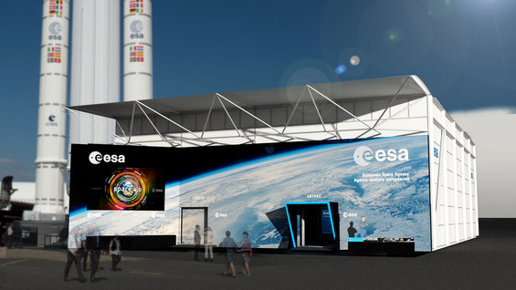 ESA at Le Bourget