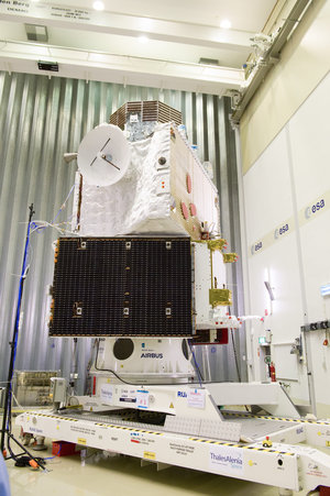 BepiColombo at ESA's test centre