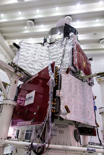 BepiColombo stack – without sunshield