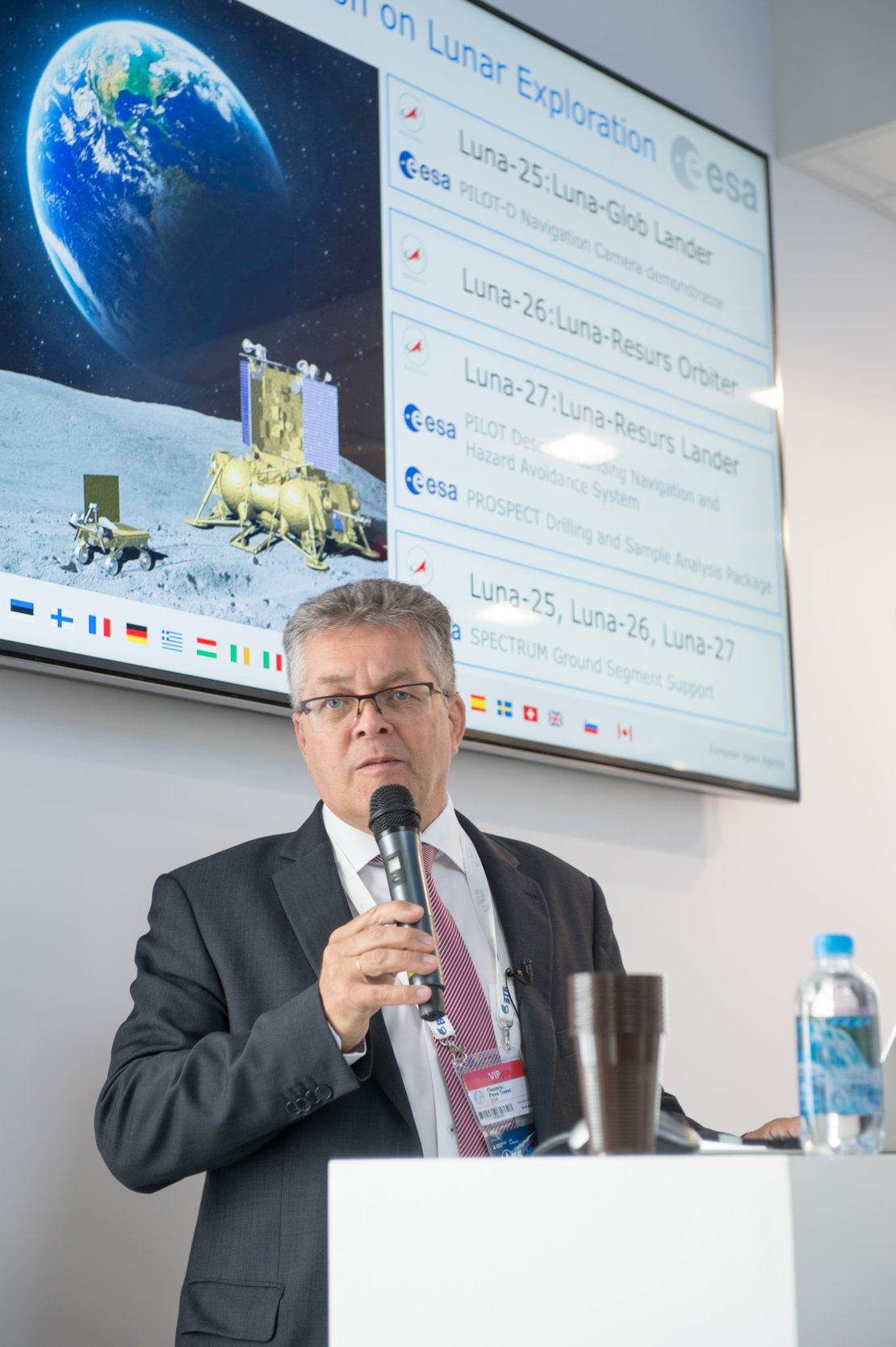 """ESA-Russia Cooperation on lunar exploration"" presentation at MAKS 2017"
