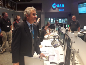 At 19:57 CEST on 18 July 2017, LISA Pathfinder principal investigator Stefano Vitale sent the final command to the spacecraft