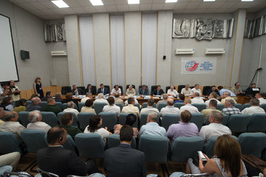 Russian State Commission's meeting to approve the Soyuz launch