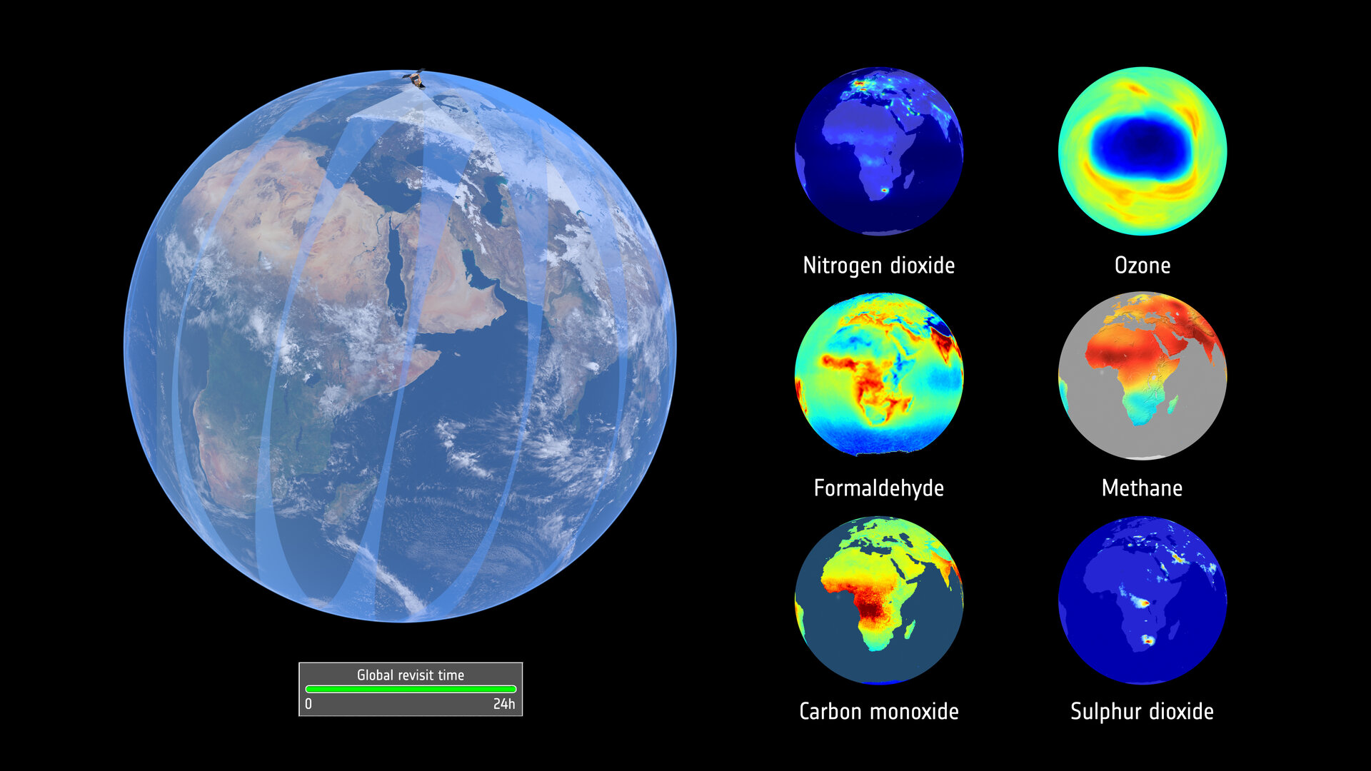 Sentinel-5P data products