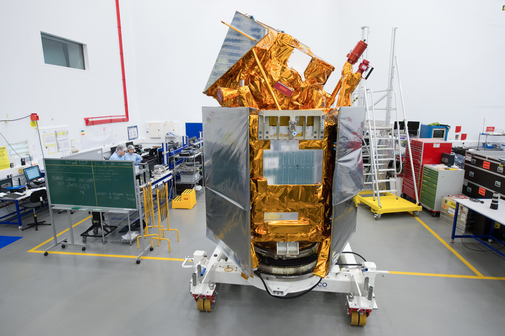 Sentinel-5P on show