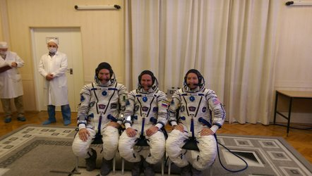 Sokol suit check for Exp 52/53
