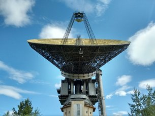 The RT-64 radio-telescope at Kalyazin, Russia, is supporting the ESA-Roscosmos ExoMars mission.