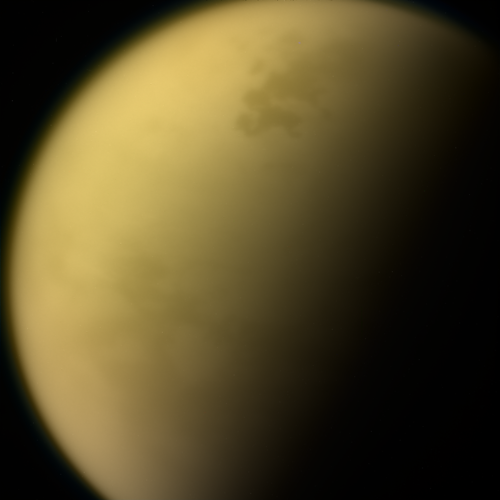 A last look at Titan
