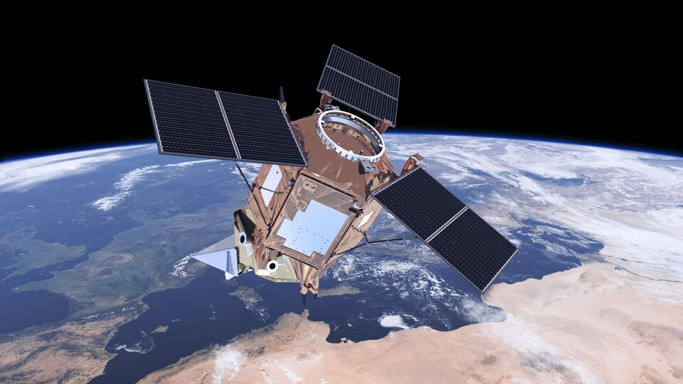 Air quality monitoring for Copernicus