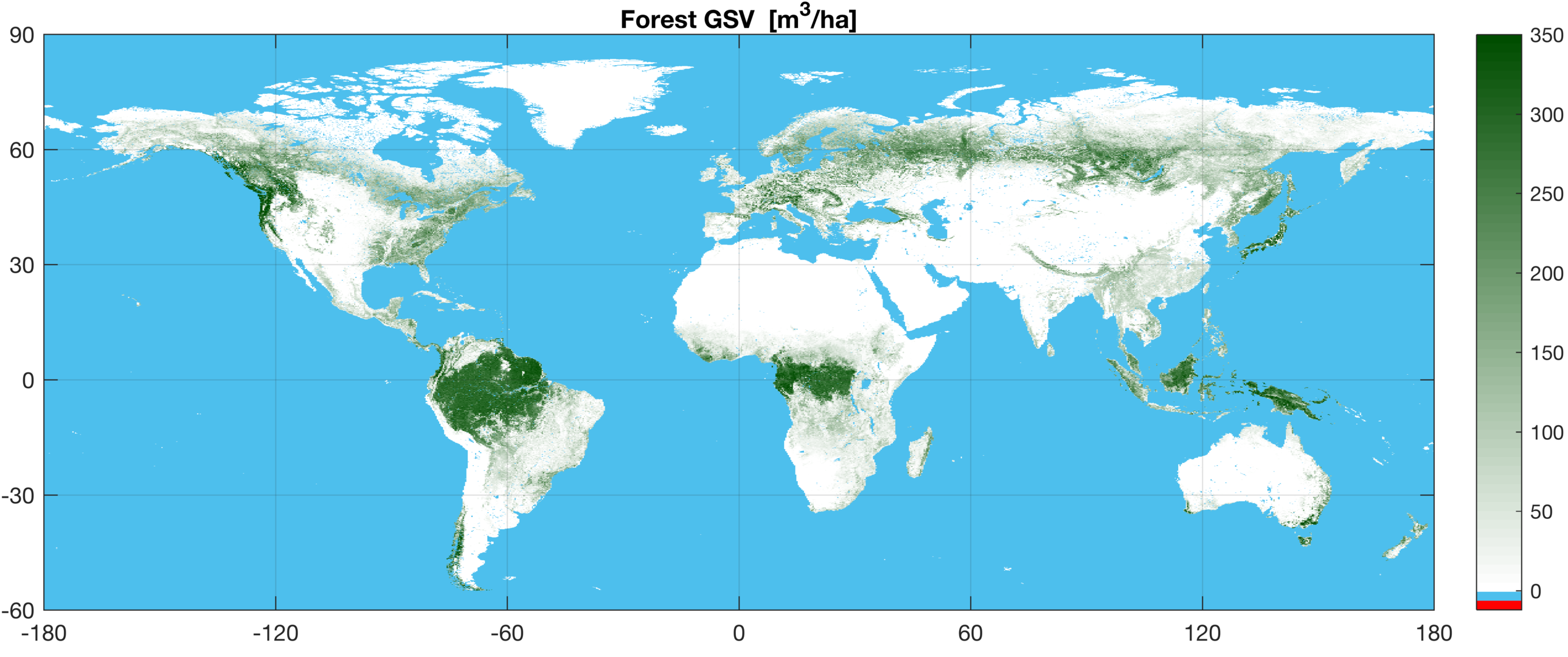 the forest world map Esa Mapping The World S Forests