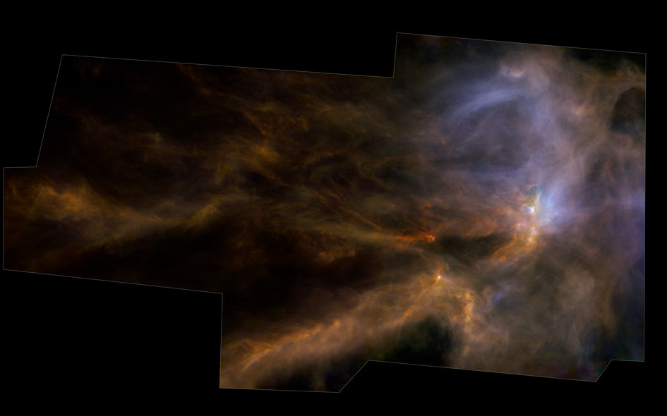 Herschel's view of a star nursery