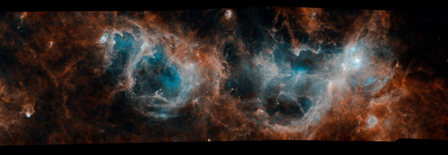 Herschel's view of new stars and molecular clouds