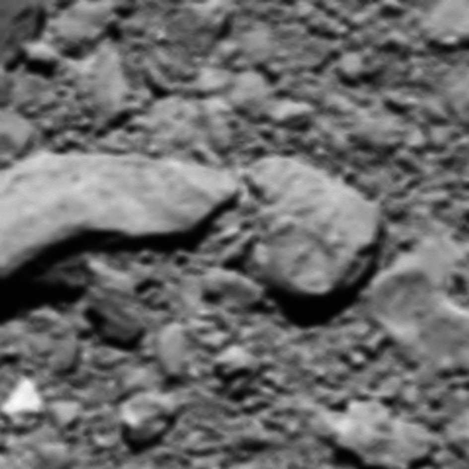 Reconstructed last image from Rosetta