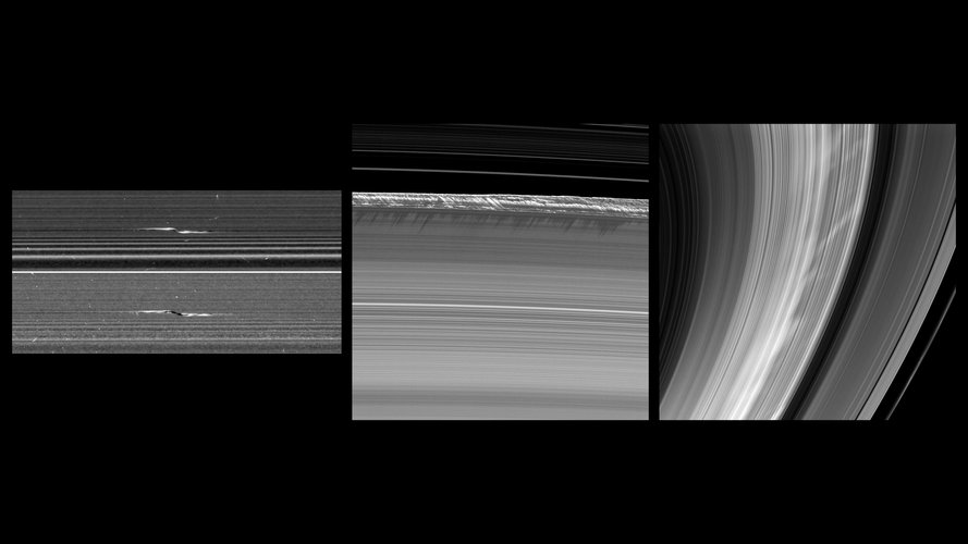 Saturn's ring features