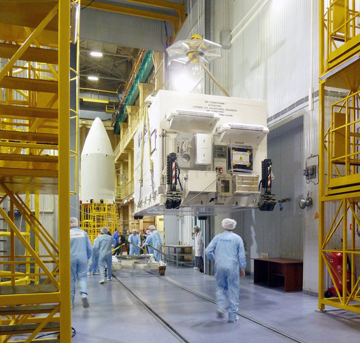 Sentinel-5p arrives in Plesetsk