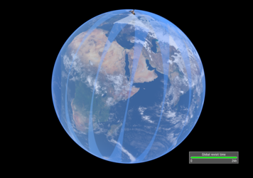 Sentinel-5P daily global coverage