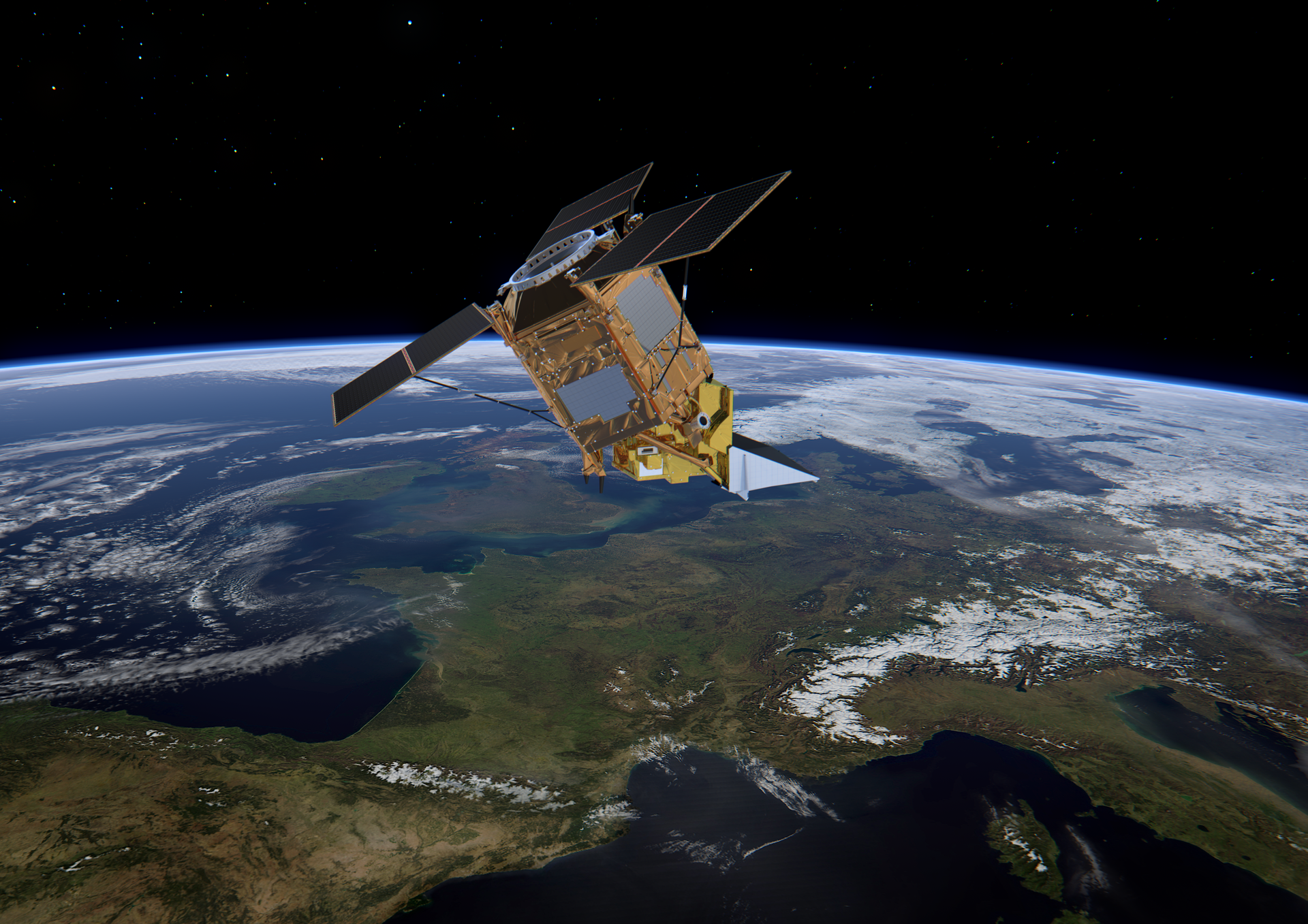 Sentinel-5P: Europe's air quality monitoring mission
