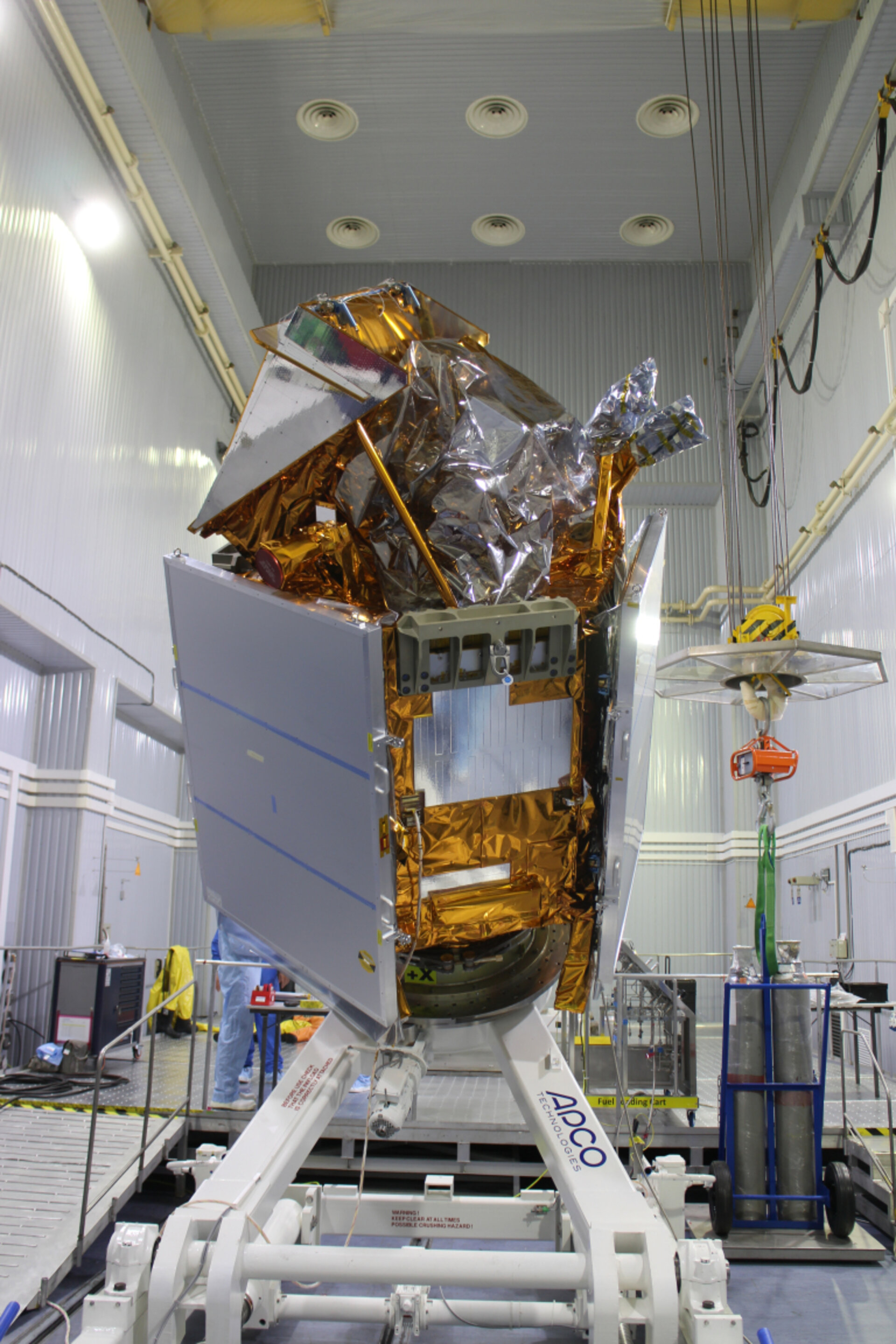 Sentinel-5P ready for fuelling