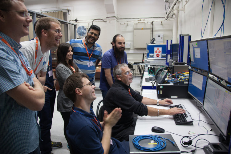 Team happy to see Sentinel-5 switched on