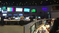 The Sentinel-5P team is training for every possible launch scenario at ESA's ESOC mission control centre, Darmstadt, Germany