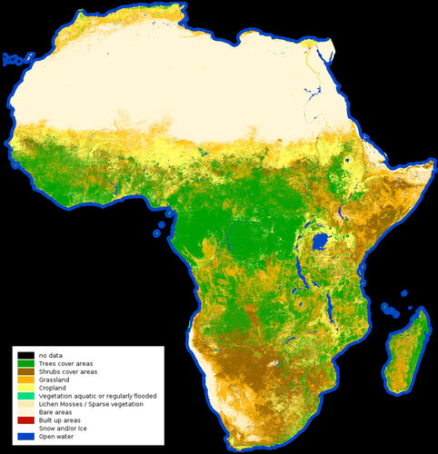 African land cover