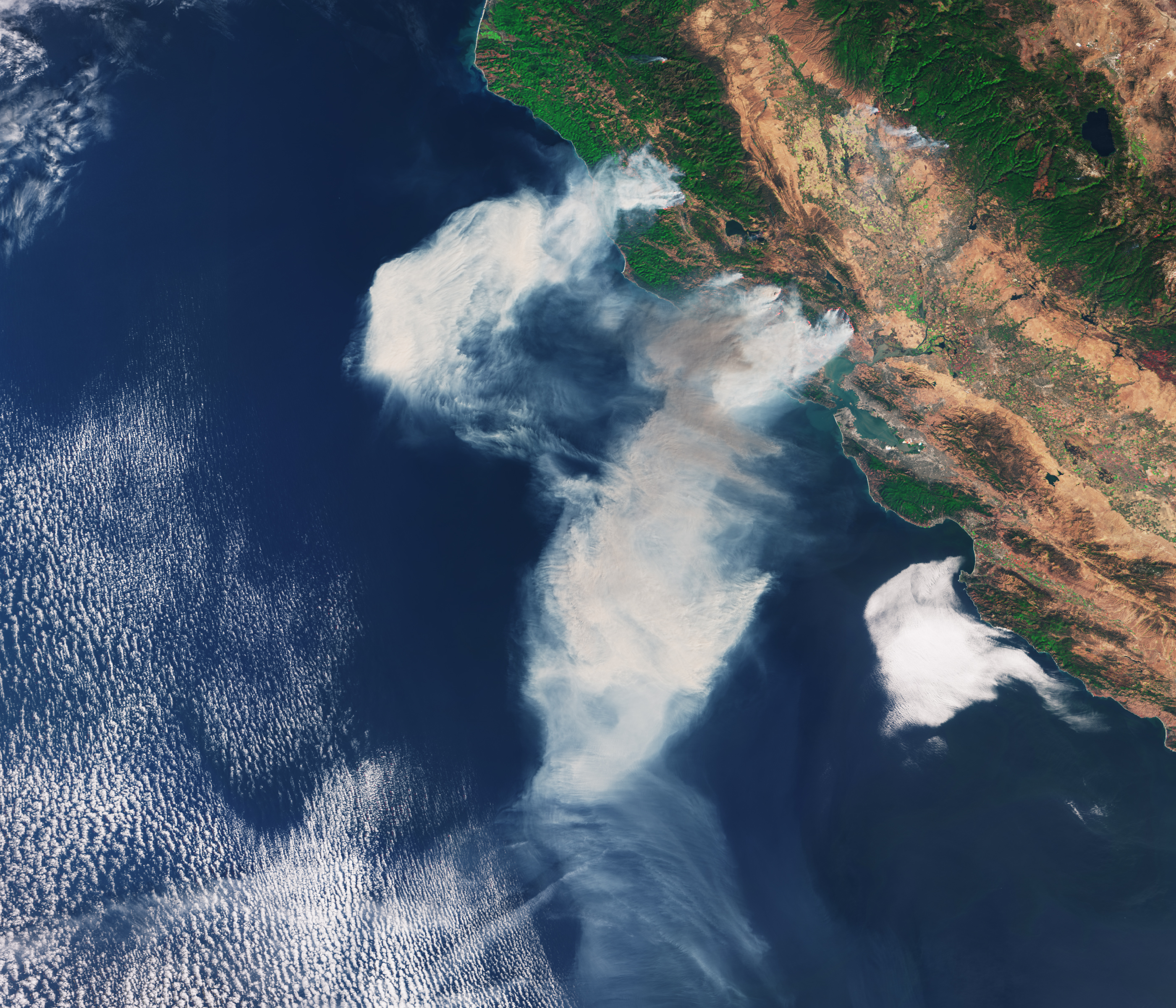 Space In Images 2017 10 California Fires