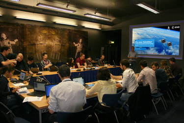 CELESTA and UoS3 attending the CDR Workshop at ESTEC