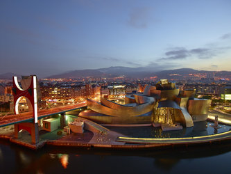 Chasmata at the Guggenheim Museum Bilbao