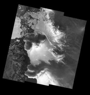Dotson ice shelf from Sentinel-1