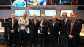 On 24 October 2017, Philippe Brunet, Director for Space Policy and Research, Copernicus and defense matters at the European Commission paid a visit to ESA's ESOC mission control centre in Darmstadt, Germany.