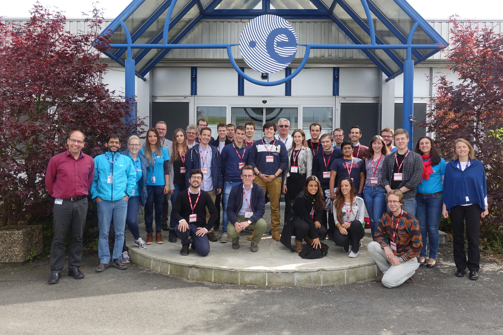 Group picture Ladybird Guide to Spacecraft Operations Course 2017 students.
