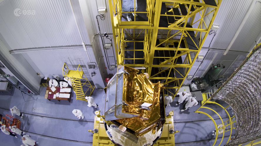 Sentinel-5P before encapsulation