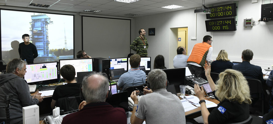 Sentinel-5P final 'dress rehearsal' countdown, Plesetsk cosmodrome